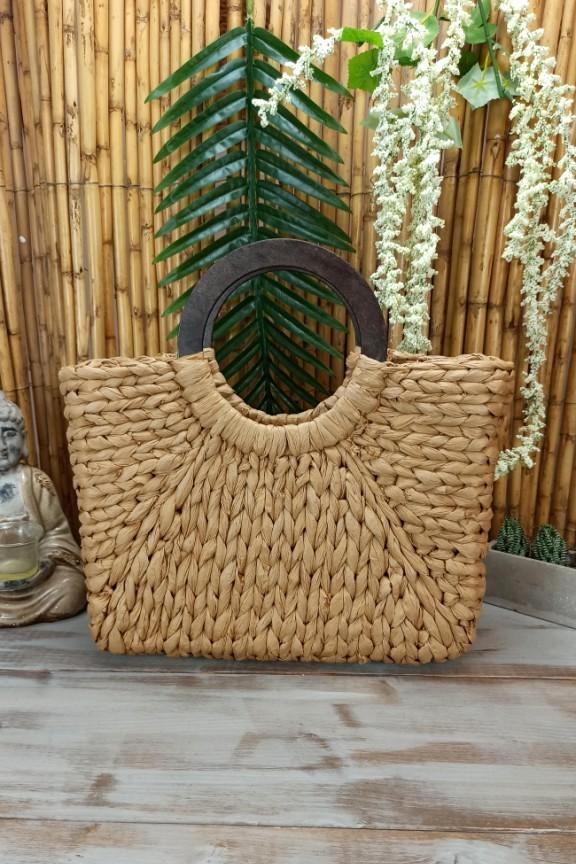ψάθινη-τσάντα-με-ξύλινη-λαβή-μπεζ