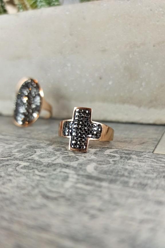 ατσάλινο-δαχτυλίδι-σταυρός-ζιργκόν-ροζ-χρυσό
