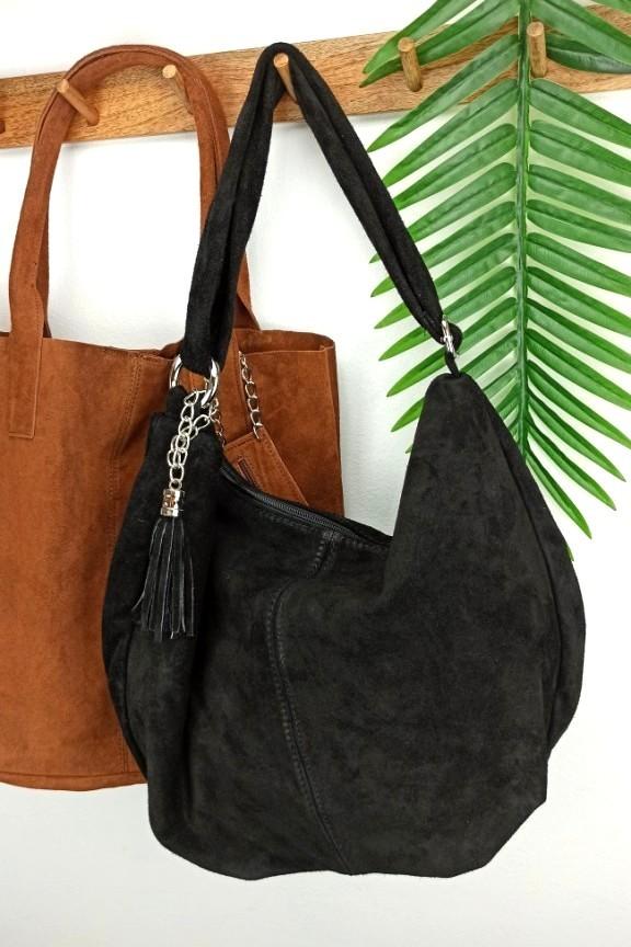 δερμάτινη-τσάντα-καστόρι-ταχυδρόμου-μαύρη