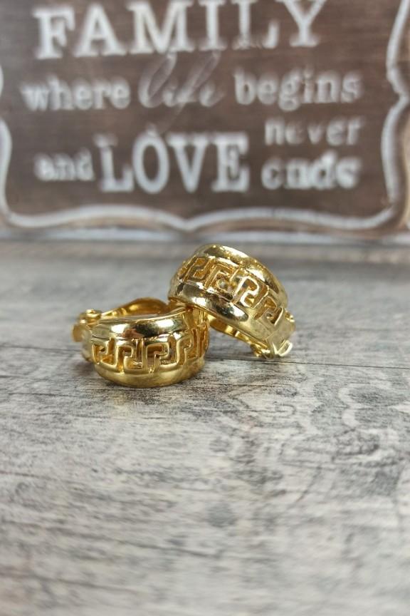 σκουλαρίκια-με-κλιπ-χρυσά