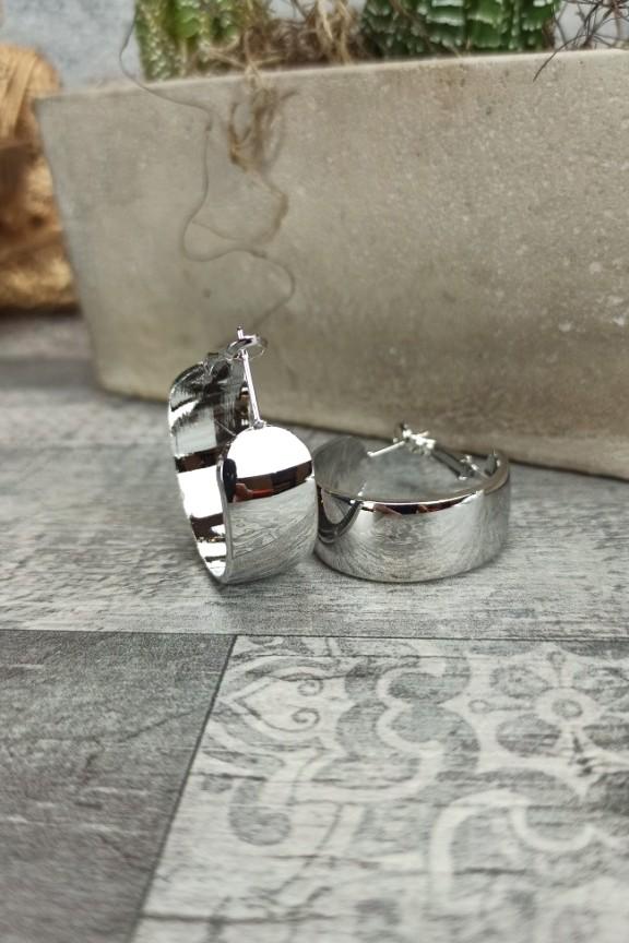 σκουλαρίκια-κρίκοι-πλακέ-ασημί