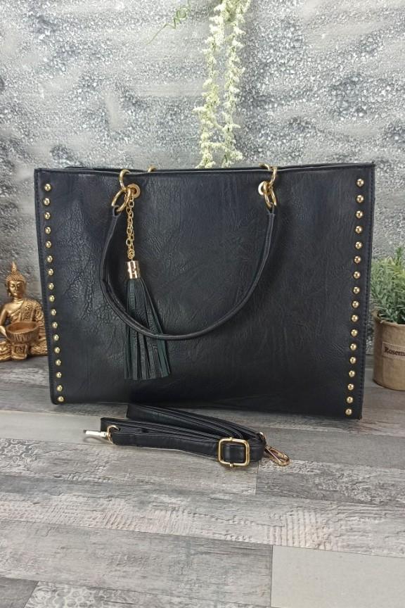 τσάντα-ώμου-τρουκς-μαύρη