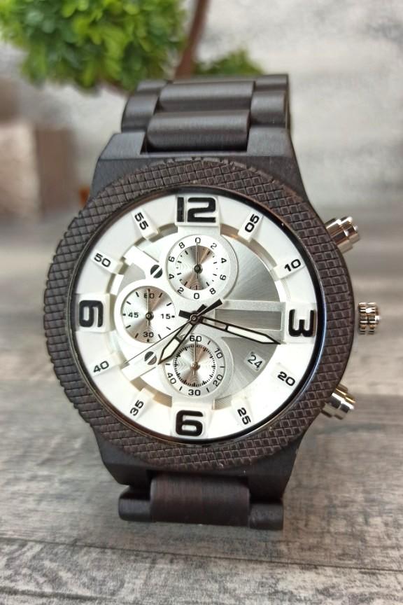 ξύλινο-ρολόι-σπορ-λευκό