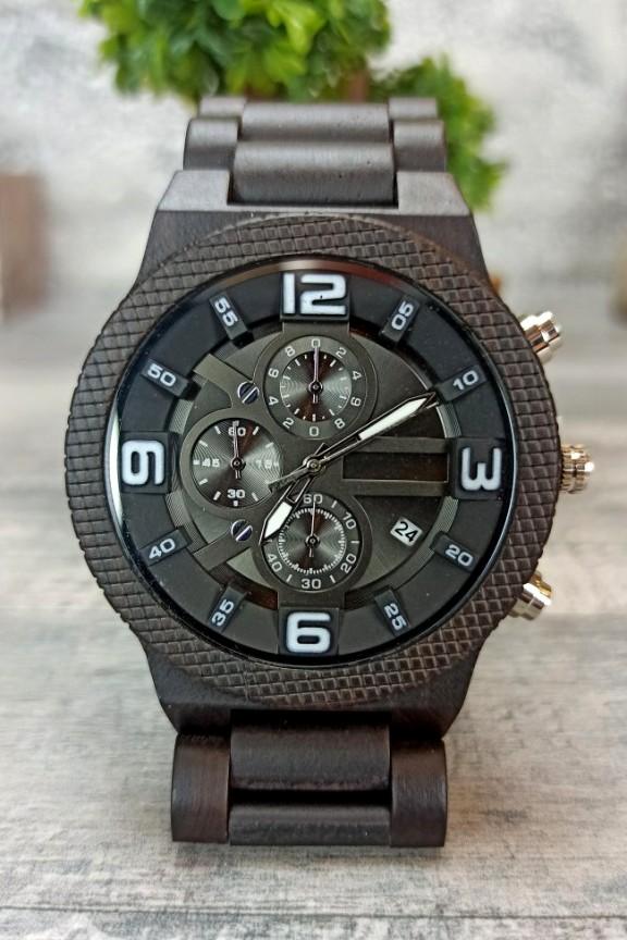 ξύλινο-ρολόι-σπορ-μαύρο
