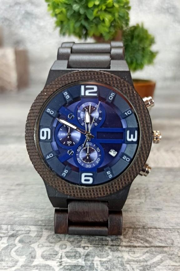 ξύλινο-ρολόι-σπορ-μπλε
