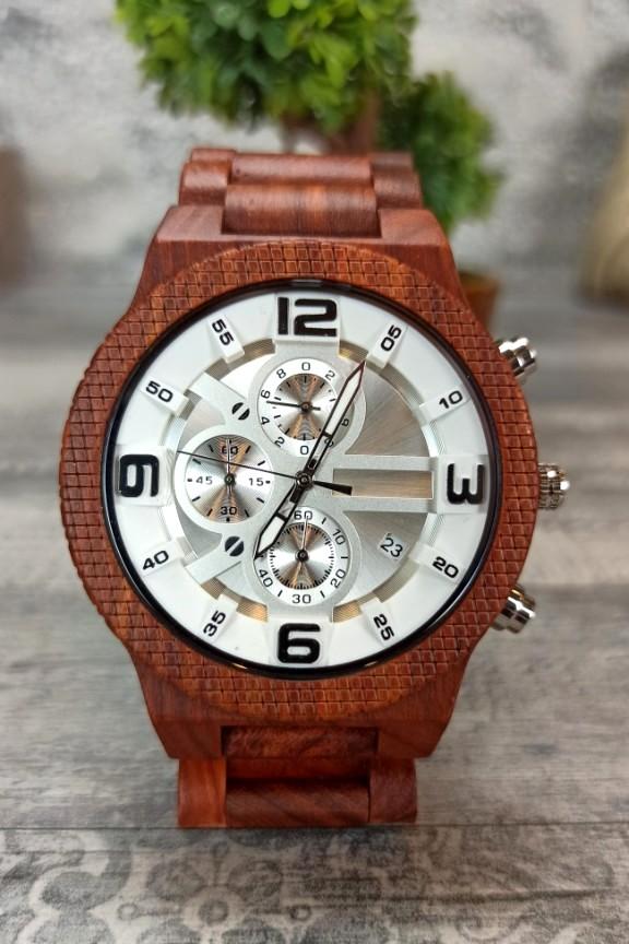 ξύλινο-ρολόι-χρονογράφος-κερασιά