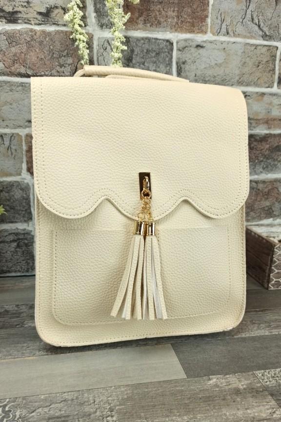 τσάντα-πλάτης-φουντάκι-λευκή