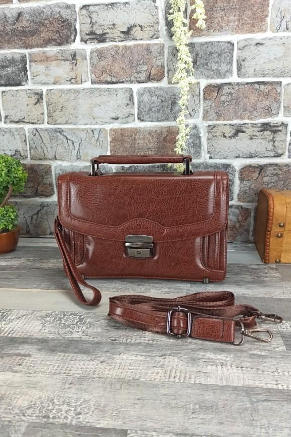 τσάντα-ταχυδρόμου-μικρή-καφέ