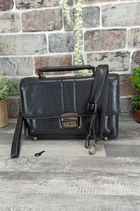 τσάντα-ταχυδρόμου-μικρή-μαύρη