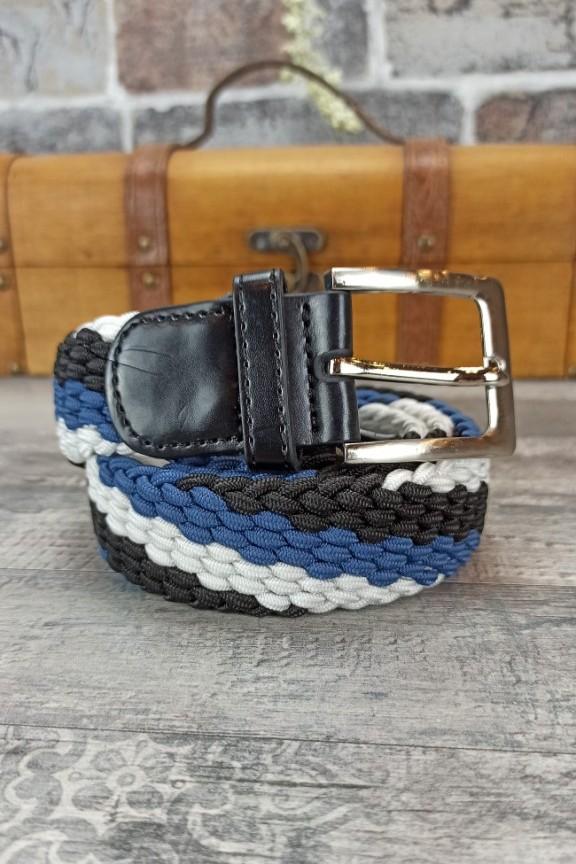 ζώνη-ανδρική-ελαστική-μαύρο-μπλε-λευκό