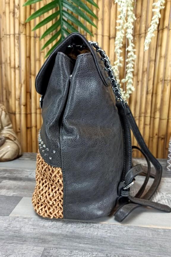 ψάθινη-τσάντα-με-τρουκς-γραφίτης