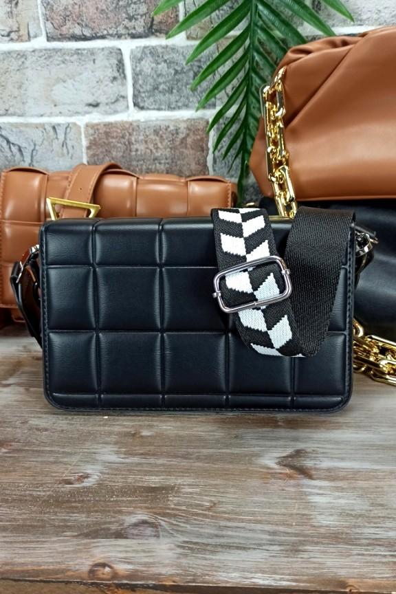 τσάντα-cassette-μαύρη-bottega