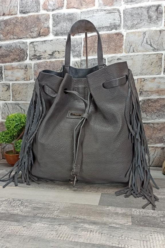 τσάντα-πλάτης-κρόσια-γκρι