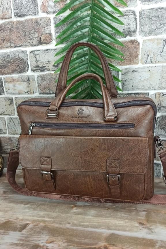 τσάντα-ταχυδρόμου-ανδρική-καφέ