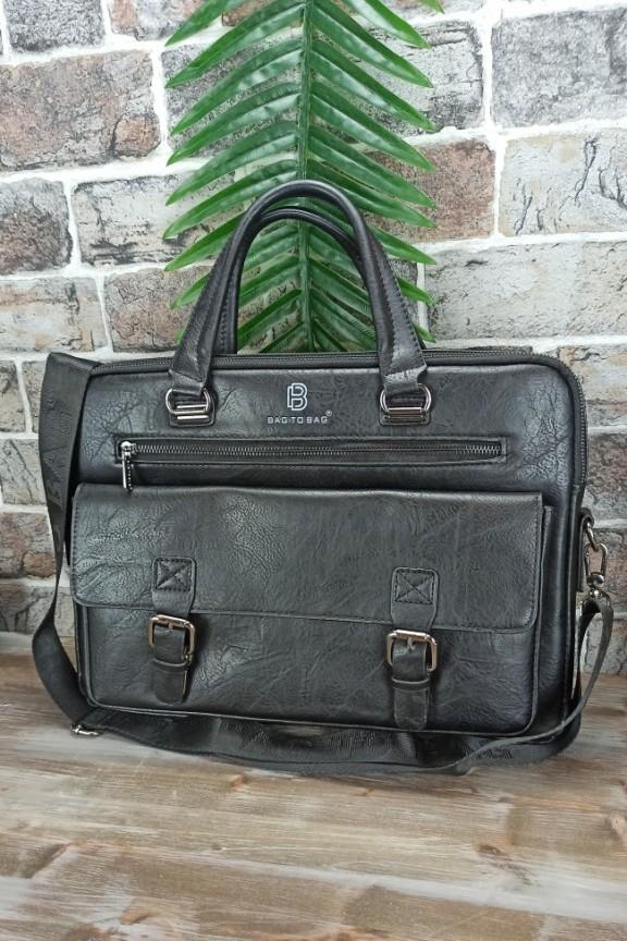 τσάντα-ταχυδρόμου-ανδρική-μαύρη