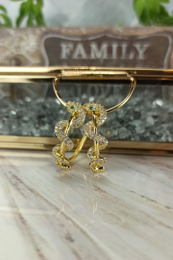 ατσάλινοι-κρίκοι-φίδια-χρυσοί
