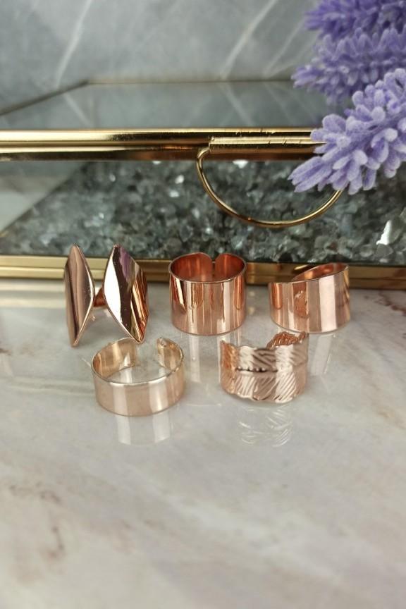 σετ-δαχτυλίδια-ροζ-χρυσό