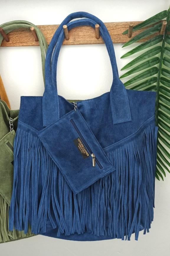 δερμάτινη-τσάντα-hobo-κρόσια-μπλε
