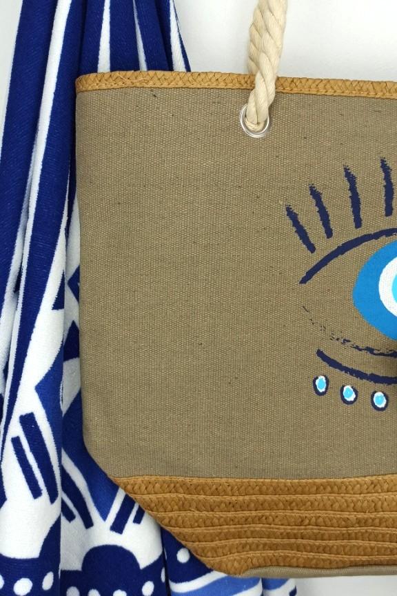 τσάντα-παραλίας-μάτι-μπεζ