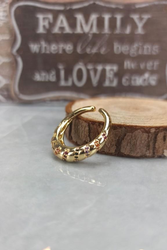 δαχτυλίδι-ατσάλι-πέτρες-χρυσό