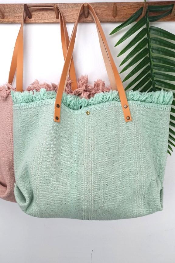 τσάντα-παραλίας-δέρμα-βεραμάν