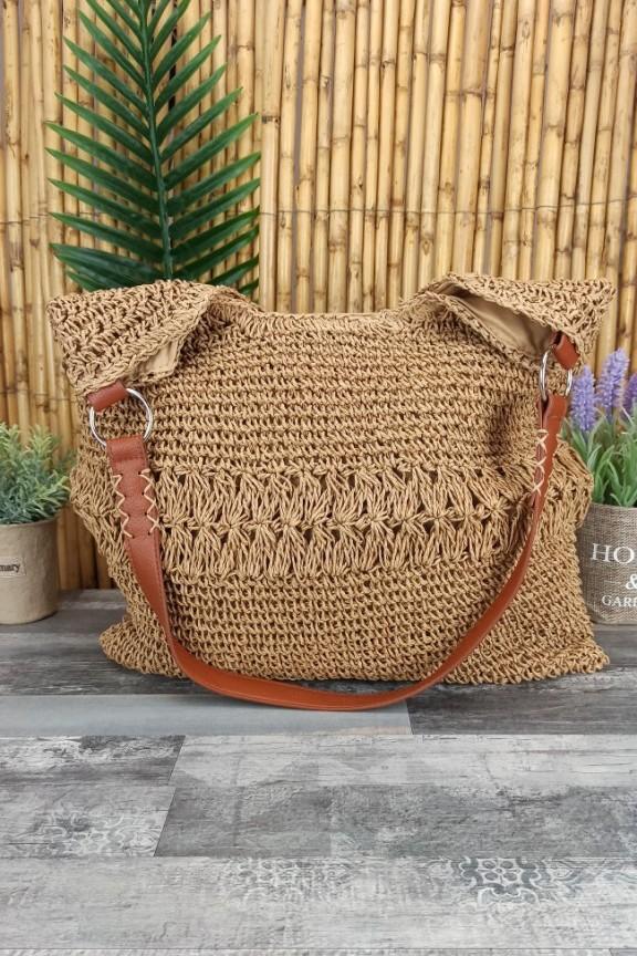 ψάθινη-τσάντα-ώμου-μπεζ
