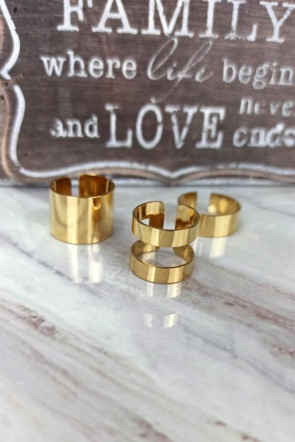 σετ-δαχτυλίδια-ατσάλι-χρυσά