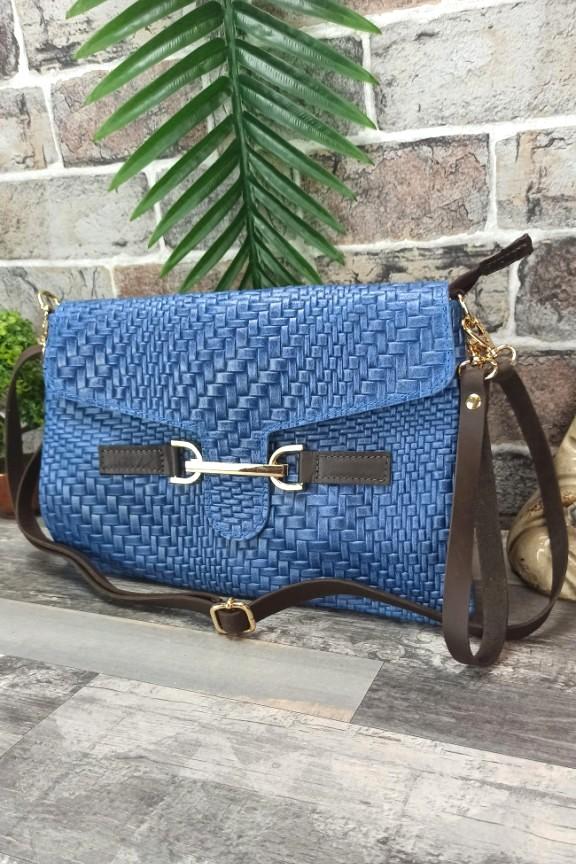 δερμάτινη-τσάντα-φάκελος-μπλε