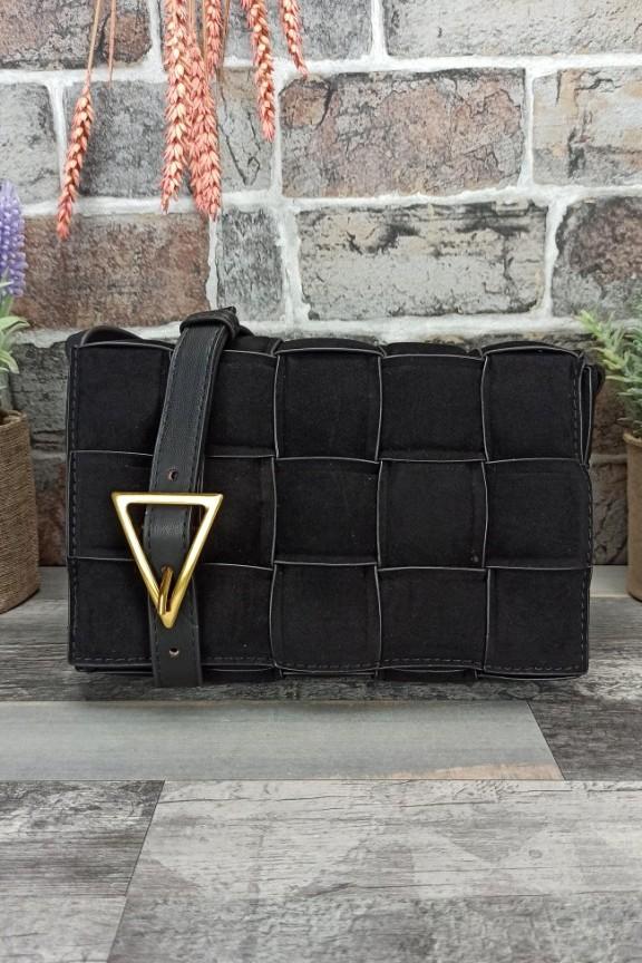 τσάντα-botega-καστόρι-μαύρη