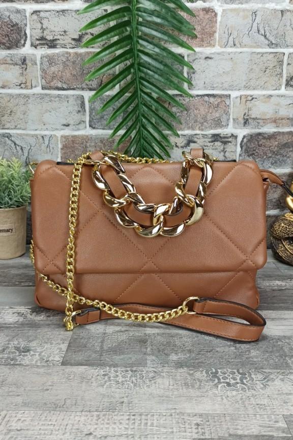 τσάντα-καπιτονέ-μαλακή-αλυσίδα-ταμπά