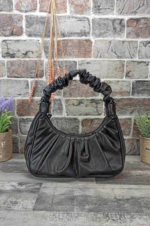 τσάντα-στριφτή-λαβή-μαύρη